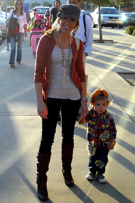 Scarecrow Halloween Costume Toddler Diy Toddler Scarecrow Costume