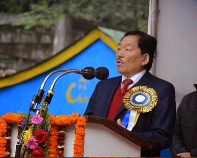 Sikkim CM Pawan Kumar Chamling