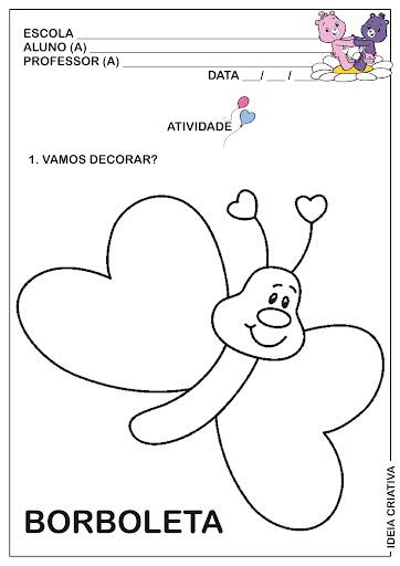 Atividade Maternalzinho Fazendo Arte Animais de Jardim
