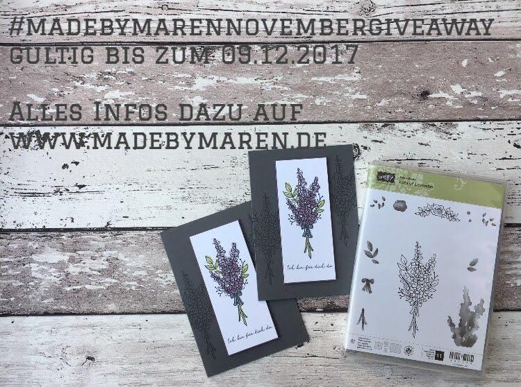 Maren's November Giveaway