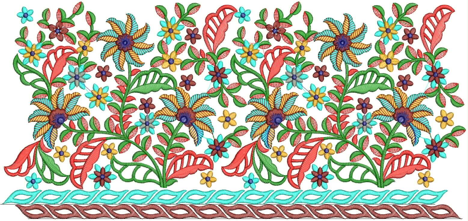 Embroidery designs saree border makaroka embdesigntube saree borders embroidery designs bankloansurffo Images
