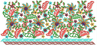 Indian Clothing embroidery design