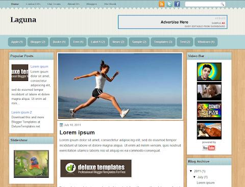 Laguna Blogger Theme