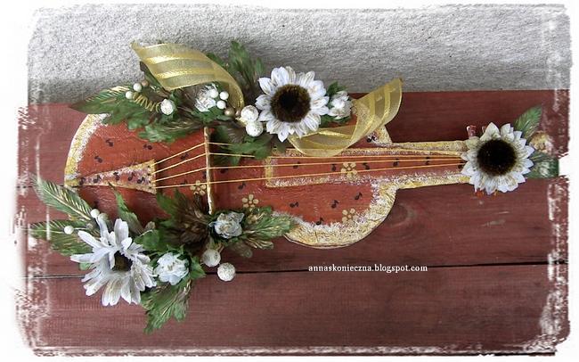 skrzypce , tektura , kuferek