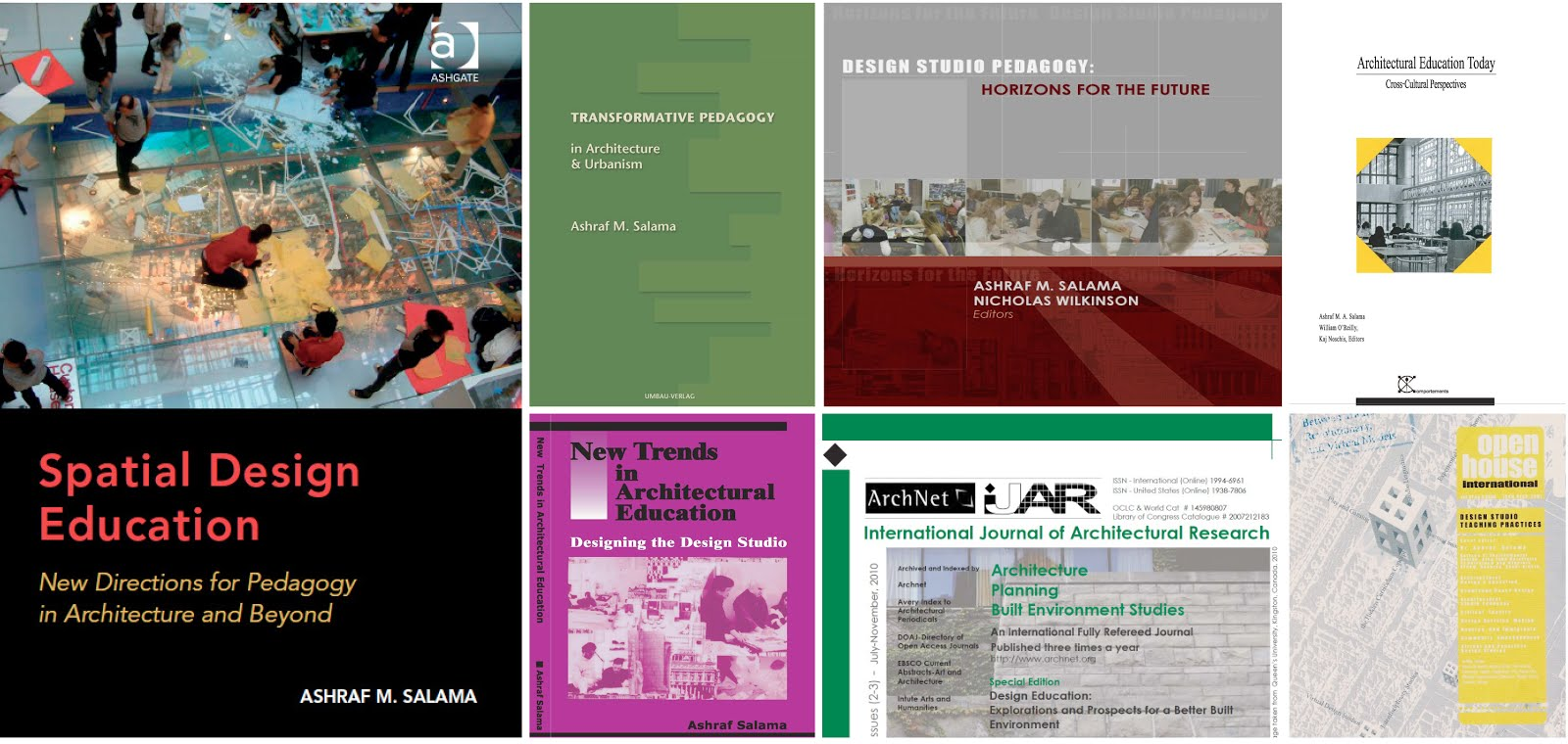 Nice ... And Architectural, Urban, And Community Design Studios. Professor  Salama Has Numerous Publications On Pedagogy In Architecture And Urbanism  Including ...
