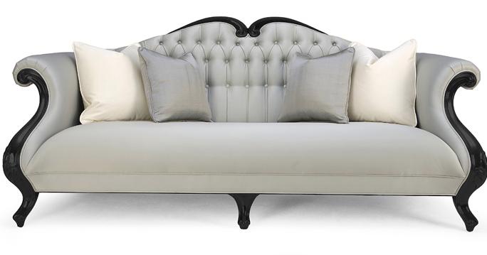 Decoraci n tendencias en estilo cl sico dos sof s - Sofa con estilo ...