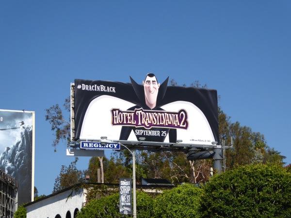 Dracula Hotel Transylvania 2 billboard