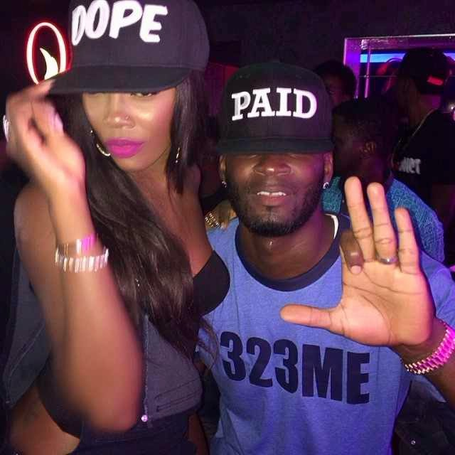 tiwa savage husband returns nigeria