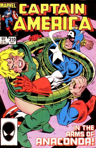 Anaconda Captain America 310