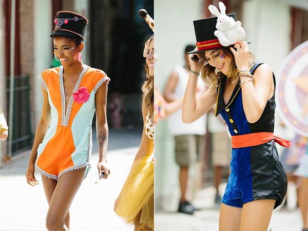Farm coleção de Carnaval look fantasia de Baliza de Banda e Magica