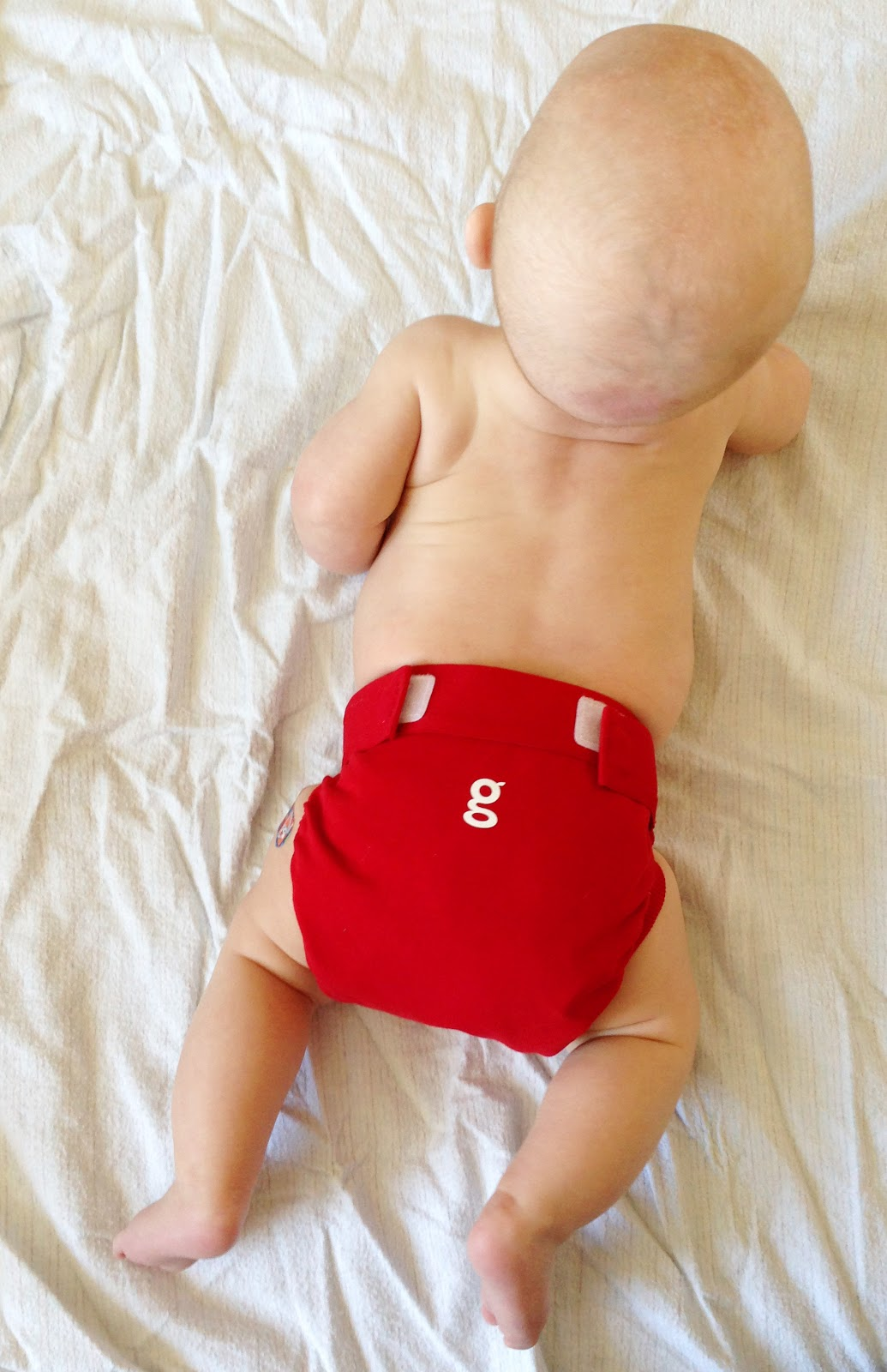 Baby in gDiapers