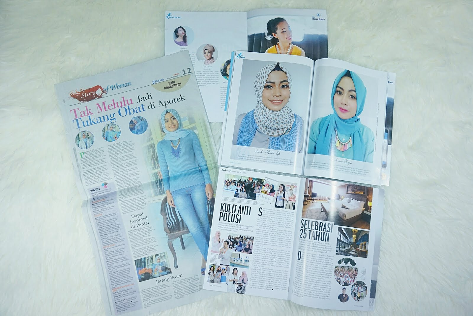 Me On Newspaper & Magazine