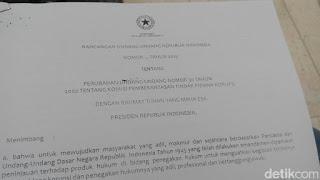 BEBERAPA ANGGOTA DPR TIDAK TAHU ISI DRAF RUU KPK 2015
