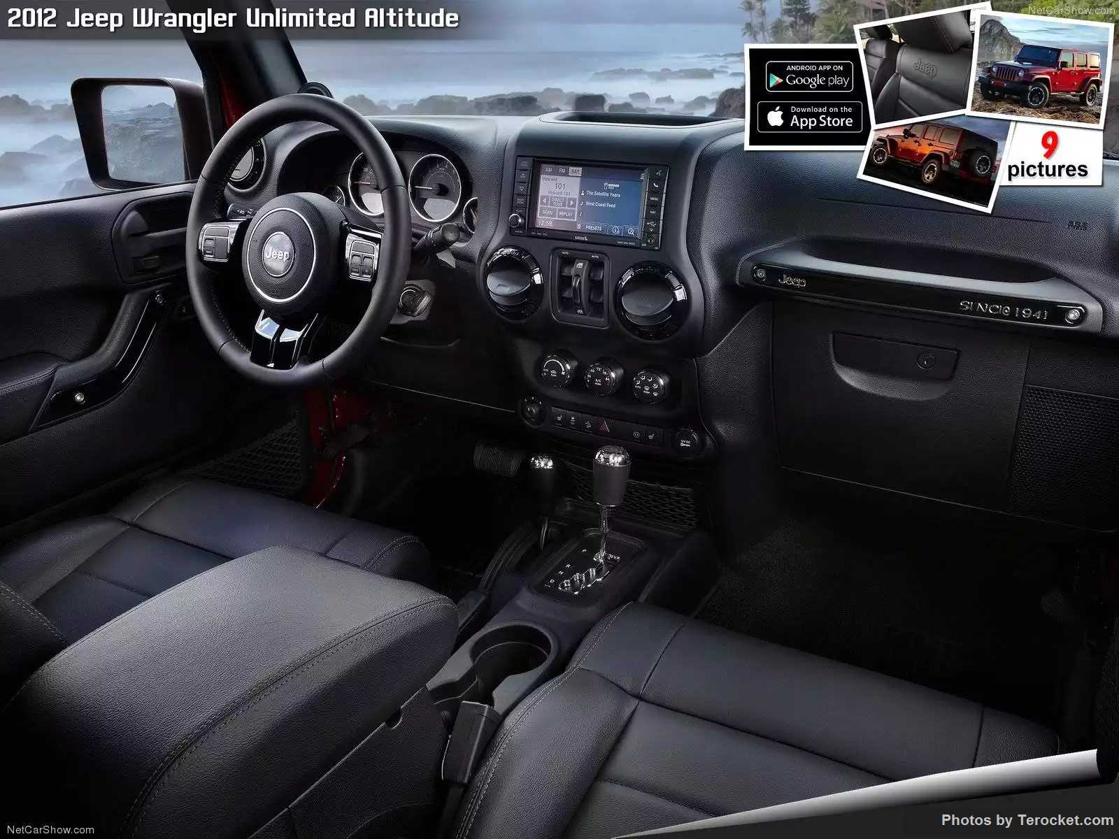 Hình ảnh xe ô tô Jeep Wrangler Unlimited Altitude 2012 & nội ngoại thất