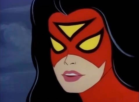 Donna Ragno Spider-Woman cartone 1979