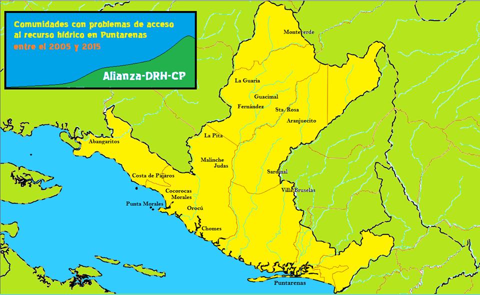 Alianza de comunidades por la Defensa del Agua