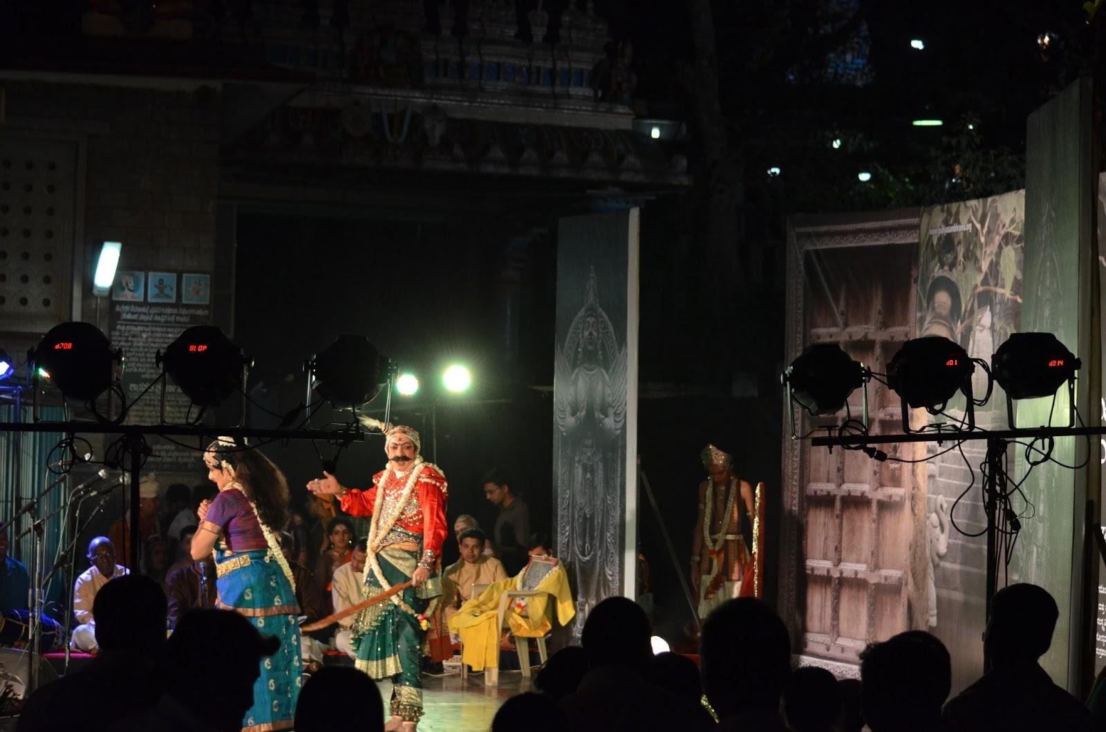 Telugu Bhagavatha Mela at Malleshwaram as part of Gudiya Sambhrama