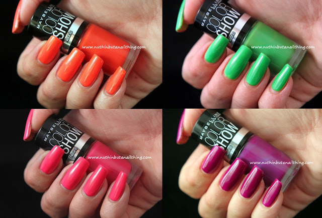 Maybelline Color Show Neon Collection