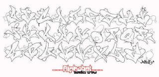Grafiti Huruf Abjad | New Calendar Template Site
