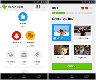 تطبيق Duolingo لتعلم الانجليزية واللغات الأجنبية مجانا للاندرويد