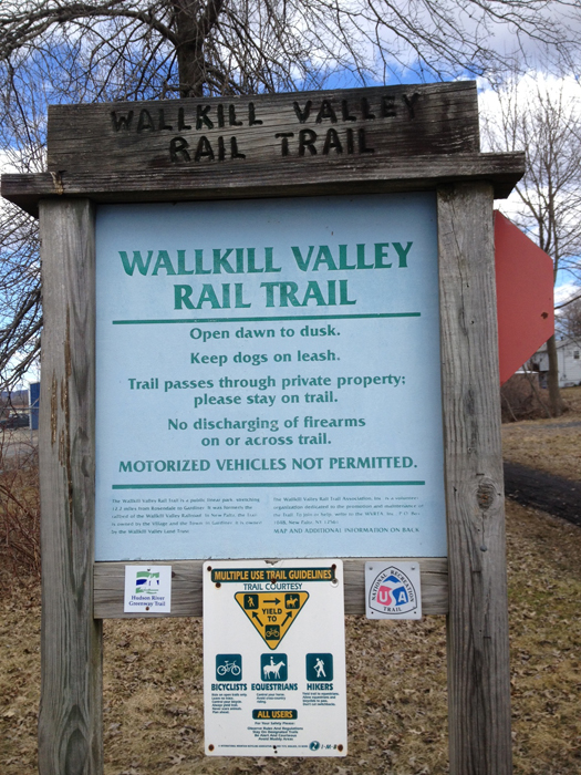 hudson valley love wallkill valley rail trail gardiner. Black Bedroom Furniture Sets. Home Design Ideas