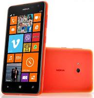Harga Nokia Lumia 625 Windows Phone 8 Terbaru Agustus 2013
