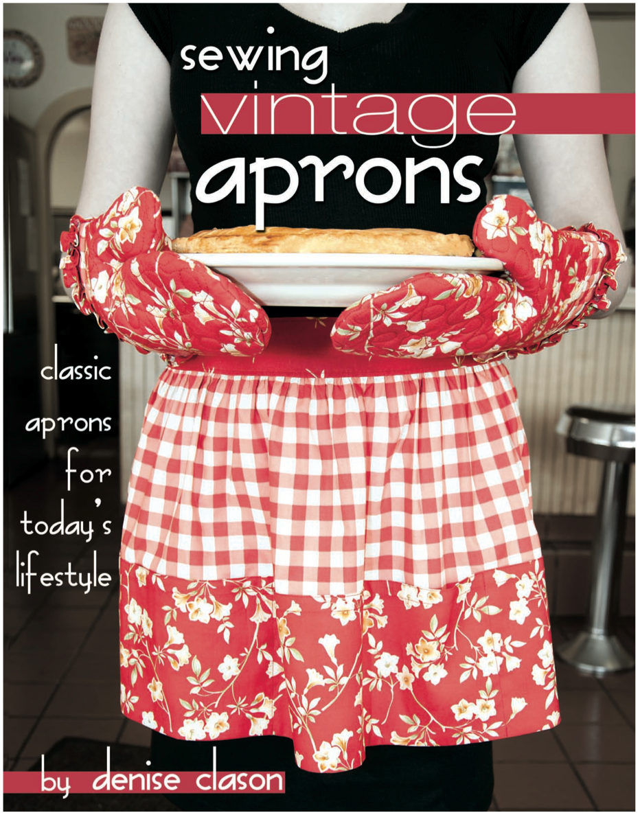 sewing vintage aprons with eleven apron styles