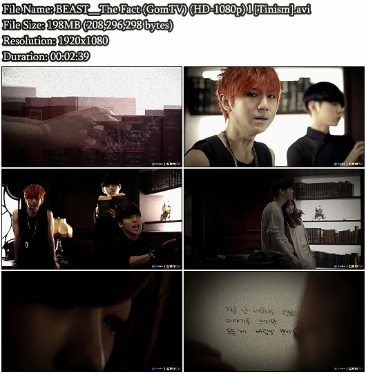 Download [MV] BEAST / B2ST (비스트) - The Fact (Fiction Intro Movie) (Real GomTV Full HD 1080p)