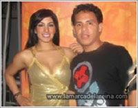 Aquí con Leisy Suarez