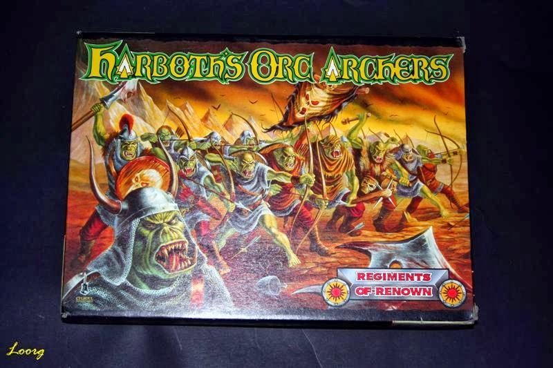 Portada de la caja RRD3 - Harboth's Orc Archers