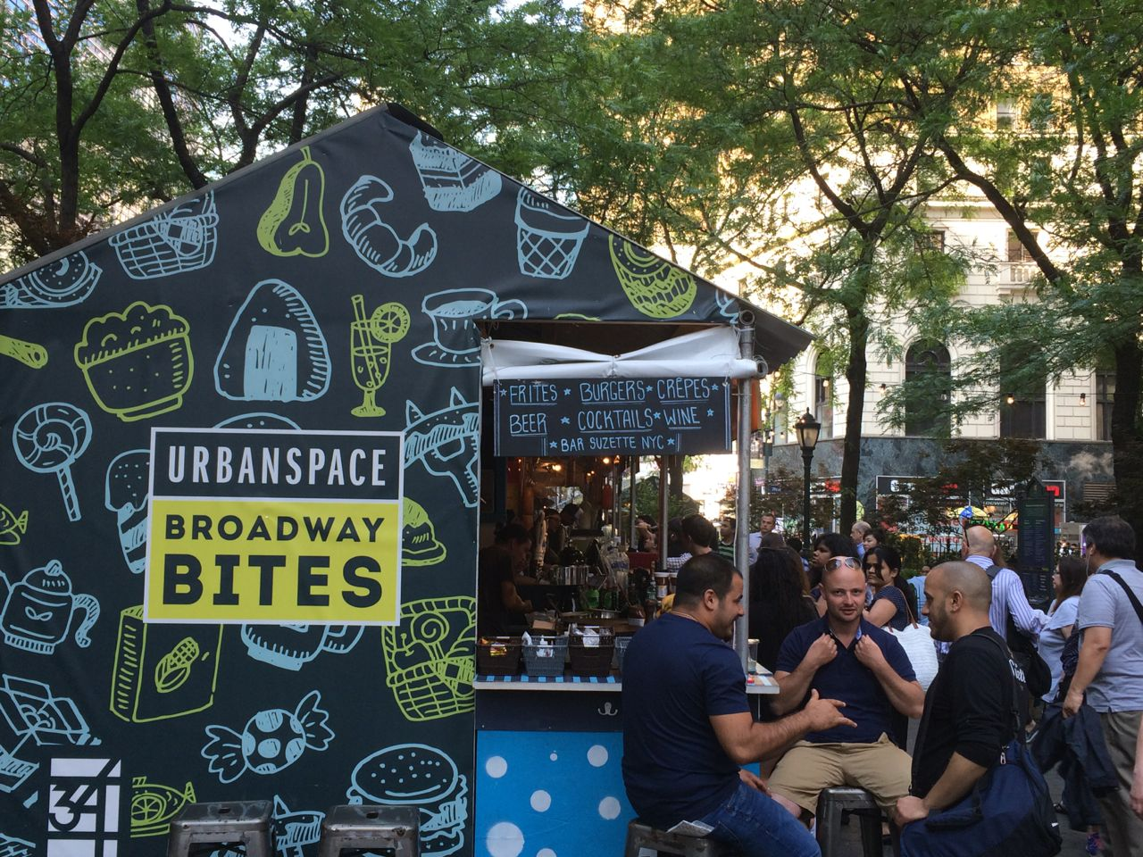 Broadway Bites is a fun event for food lovers.