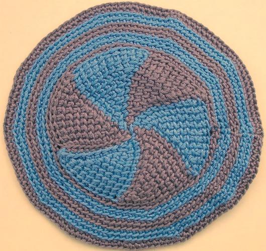 Free Pinwheel Crochet Baby Blanket Pattern : Pinwheel Baby Blanket Crochet Pattern images