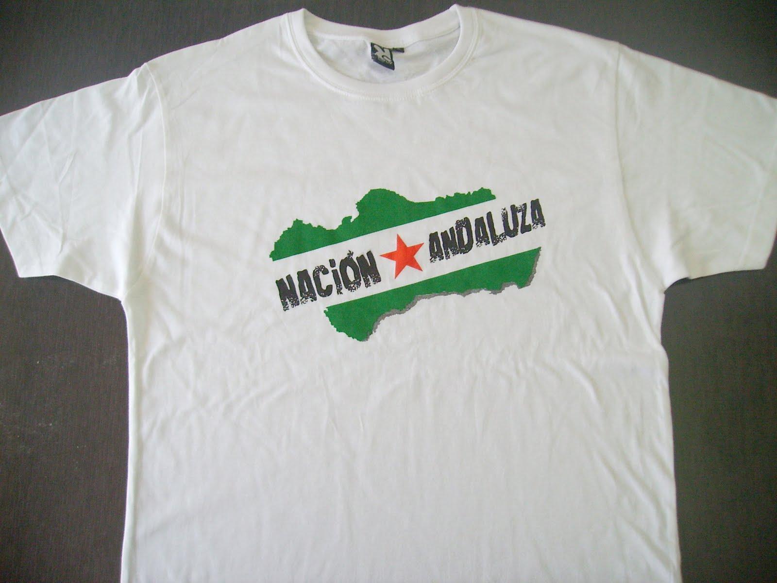 Camisetas NACIÓN ANDALUZA