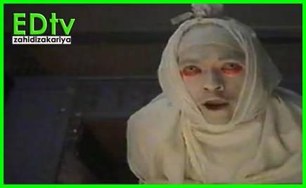 Johan Asari jadi pocong dalam episod akhir Terowong TV3