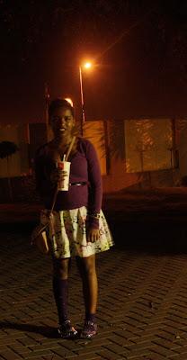 glitter daiquiri, khensani mohlatlole, sa style blog, top sa blog, knee socks, jelly sandals, black lipstick