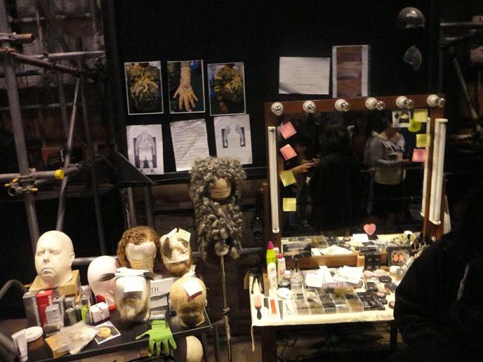 Perucas e Maquiagens - Visitando os Estúdios de Harry Potter em Londres