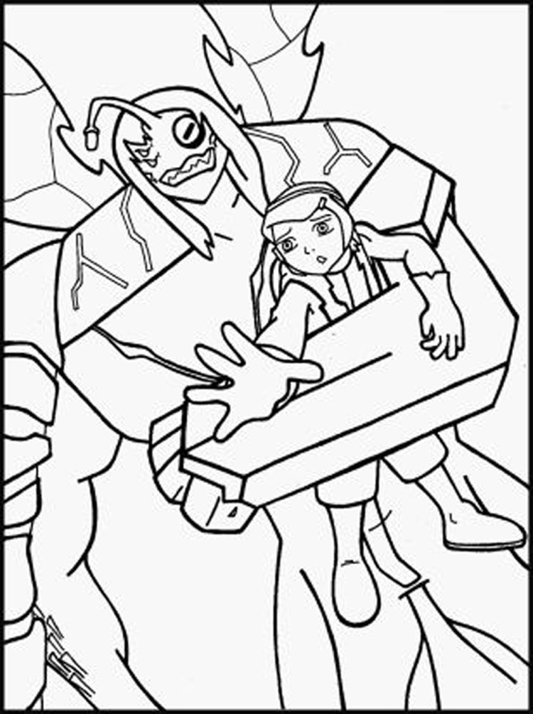 Ben 10 coloring pages minister coloring for Coloring pages of ben 10 aliens