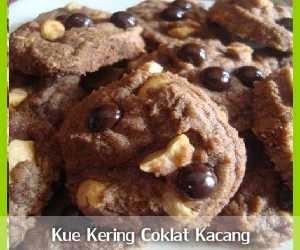 Resep dan Cara Membuat Kue Kering Coklat Kacang