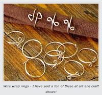 Rena Klingenberg called 'Wire Wrap Rings – Tutorial'