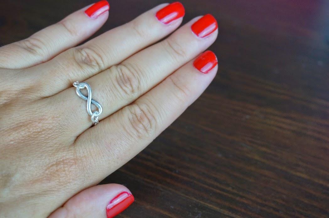 DIY Ringe selbst machen Unendlichkeit