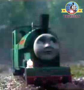 Duncan Skarloey railway narrow gauge Thomas the tank engine friend Proteus the train magic lamp