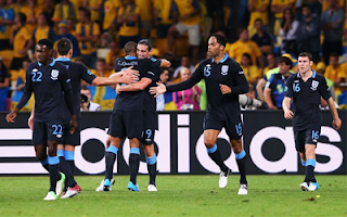 أهداف مباراة انجلترا والسويد 3-2 في بطولة اليورو 15-6-2012