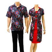 Baju batik Modern 2013 terbaru