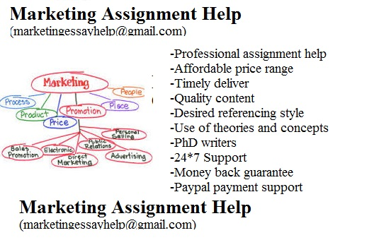 Marketing assignment help