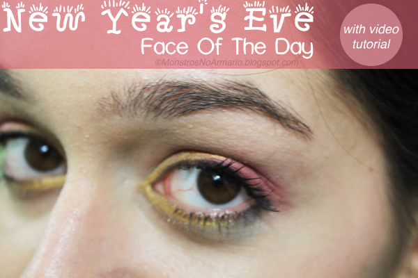New Year's Eve Makeup with video tutorial