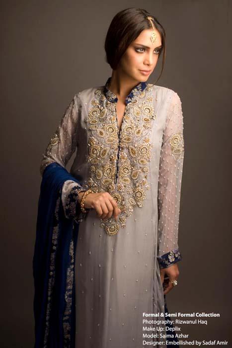 Women Formal U0026 Semi Formal Dresses Collection 2012 Embellished By Sadaf Amir ~ Paki Style Fashion