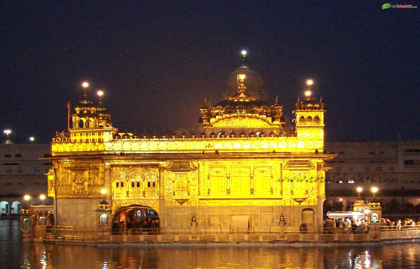 Golden temple for Golden night