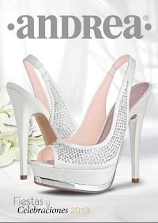 zapatos de fiesta andrea catalogo 2013