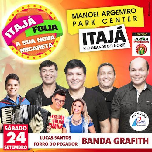 ITAJÁ FOLIA NO MONOEL ARGEMIRO PARQUE CENTER EM ITAJÁ/RN