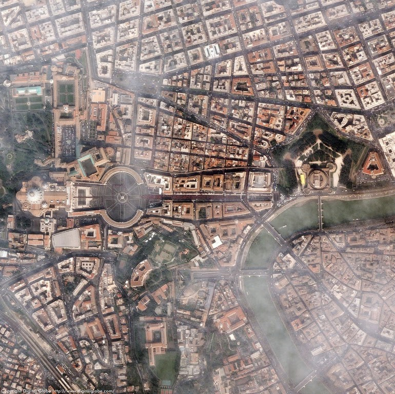 aerial photography - Vatican City